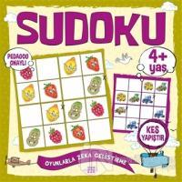 Çocuklar İçin Sudoku Kes Yapıştır (4+ Yaş) Kolektif