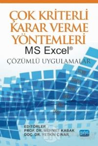 Çok Kriterli Karar Verme Yöntemleri MS Excel
