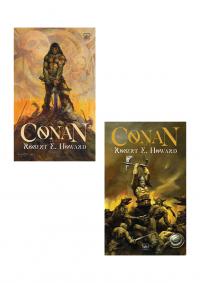 Conan 2 Kitap Takım Robert E. Howard