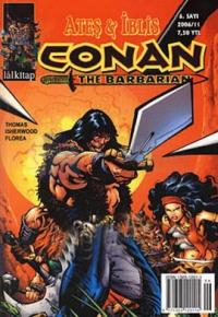 Conan The Barbarian Sayı: 6 Ateş ve İblis