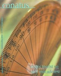 Conatus Çeviri Dergisi Sayı: 4
