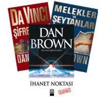 Dan Brown Seti (Üç Kitap Birarada)Melekler ve Şeytanlar / Da Vinci Şifresi / İhanet Noktası