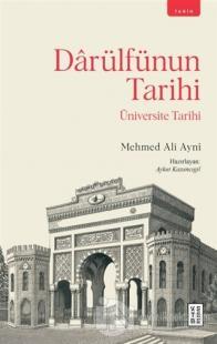 Darülfünun Tarihi Mehmed Ali Ayni