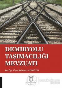 Demiryolu Taşımacılığı Mevzuatı