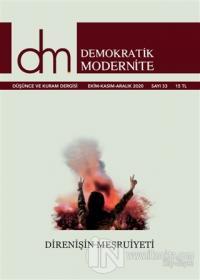 Demokratik Modernite Düşünce ve Kuram Dergisi Sayı: 33 Ekim - Kasım - Aralık 2020