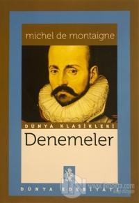 Denemeler Michel de Montaigne
