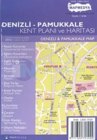 Denizli - Pamukkale Kent Planı ve Haritası
