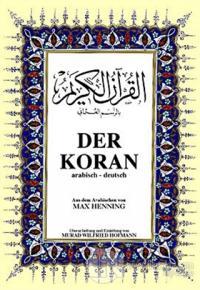 Der Koran Almanca Kuran-ı Kerim ve Tercümesi (Ciltli, Şamua Kağıt, Orta Boy)