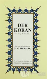 Der Koran Almanca Kuran-ı Kerim Tercümesi (Karton Kapak, İpek Şamua Kağıt, Küçük Boy)