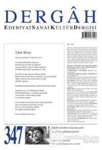 Dergah Edebiyat Sanat Kültür Dergisi Sayı: 347 Ocak 2019 Kolektif