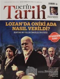 Derin Tarih Aylık Dergisi Sayı: 88 Temmuz 2019