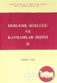 Derleme Sözlüğü ve Kavramlar Dizini 2