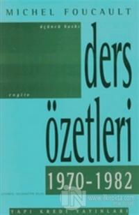 Ders Özetleri (1970-1982)