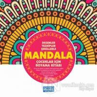Desenler Tezhipler Şekillerle Mandala - Pembe Kitap