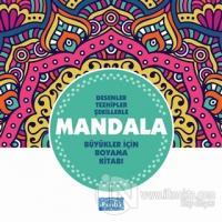Desenler Tezhipler Şekillerle Mandala - Turkuaz Kitap