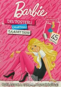 Dev Posterli Çıkartmalı Barbie