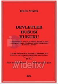 Devletler Hususi HukukuGenel Prensipler - Kanunlar İhtilafı - Milletle