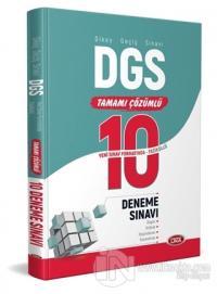 DGS Çözümlü 10 Fasikül Deneme Sınavı