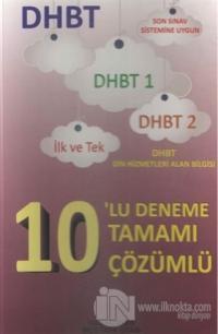 DHBT 10'lu Deneme Tamamı Çözümlü