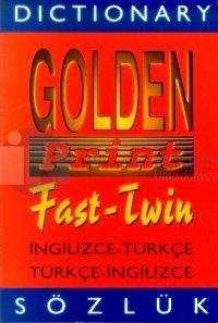 Dictionary Golden Print Fast-Twin İngilizce-Türkçe Türkçe-İngilizce Sözlük