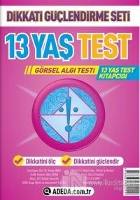 Dikkati Güçlendirme Seti 13 Yaş Test