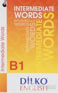 Dilko Kelime Kartı Intermediate Words B1