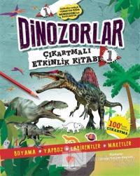 Dinozorlar Çıkartmalı Etkinlik Kitabı 1 Penny Worms