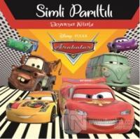 Disney Arabalar Simli Parıltılı Boyama Kitabı