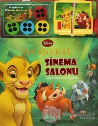 Disney Aslan Kral Sinema Salonu Öykü Kitabı ve Projektör (Ciltli)