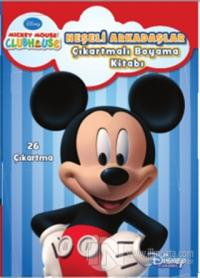 Disney MMCH Neşeli Arkadaşlar Çıkartmalı Boyama Kitabı %20 indirimli K