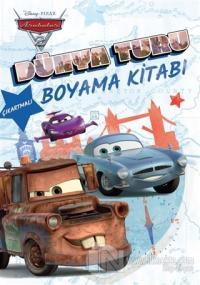 Disney Pixar Arabalar 2 - Dünya Turu Boyama Kitabı