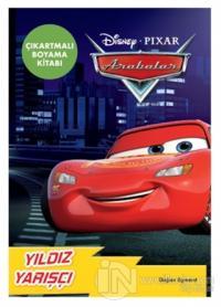 Disney Pixar Arabalar Yıldız Yarışçı Çıkartmalı Boyama Kitabı