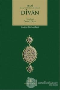 Divan Hecri Kara Çelebi Muhyi'd-din Mehmed