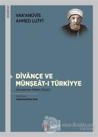 Divançe Ve Münşeat-ı Türkiyye