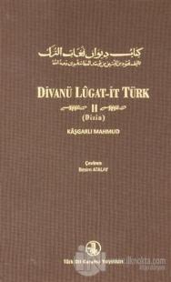 Divanü Lugat-it Türk Cilt 2 (Ciltli)