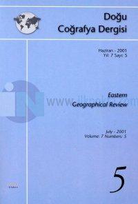 Doğu Coğrafya DergisiHaziran - 2001 Yıl: 7 Sayı: 5Eastern Geographical Review
