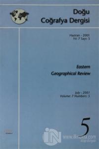 Doğu Coğrafya Dergisi Haziran - 2001  Yıl: 7 Sayı: 5 Eastern Geographical Review