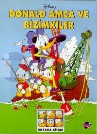 Donald Amca ve Bizimkiler Disney Boyama Kitabı