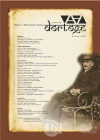 Dörtöğe Felsefe ve Bilim Tarihi Yazıları Hakemli Dergi Sayı: 11 Yıl: 6