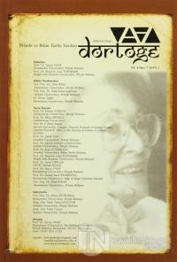 Dörtöğe Felsefe ve Bilim Tarihi Yazıları Hakemli Dergi Sayı: 7 Yıl: 4