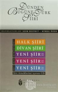 Dünden Bugüne Türk Şiiri 5 Cilt Takım Şiir Örneklerini İçeren CD
