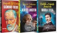 Dünyaya Yön Veren Bilim Adamları Seti (3 Kitap Takım)