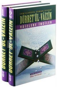 Düret'ül-Vaizin - Vaizlere İnciler (2 Cilt Takım)
