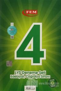 DVD'li 4 LYS Deneme Seti: Edebiyat - Coğrafya Sınavı