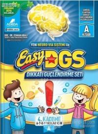 Easy DGS Dikkati Güçlendirme Seti (6 - 7 - 8 - 9 Yaşlar İçin) 4. Kademe A