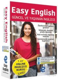 Easy English Güncel ve Yaşanan İngilizce Eğitim Seti (Ciltli) %20 indi