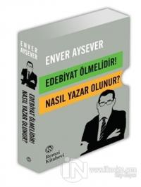 Edebiyat Ölmelidir! - Nasıl Yazar Olunur? (2 Kitap Takım - Kutulu)