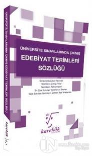 Üniversite Sınavlarında Çıkmış Edebiyat Terimleri Sözlüğü