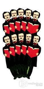 Edgar Allan Poe - 10'lu Lazer Kesim Ayraç