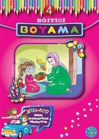 Eğitici Boyama - 4 Jambu ile Narçi Güzel Davranışlar Öğreniyor